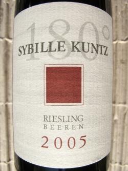 Kuntz Riesling Lieser Niederberg-Helden Beerenauslese 2005 (0,375 l)