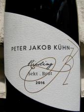 Peter Jakob Kühn Riesling Sekt brut 2016