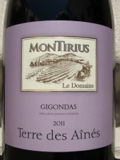 Montirius Gigondas 'Terre des Aînés' 2011