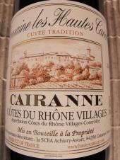 Les Hautes Cances Cairanne 'Cuvée Tradition' 2014