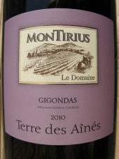 Montirius Gigondas 'Terre des Aînés' 2010 Magnum