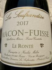 La Soufrandise Mâcon-Fuissé 'Le Ronté' 2017
