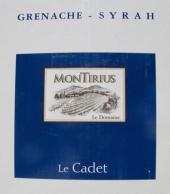 Montirius Vin de France 'Le Cadet' 2019 - 3l BiB